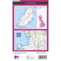 OS Landranger Map - 95 - Isle of Man